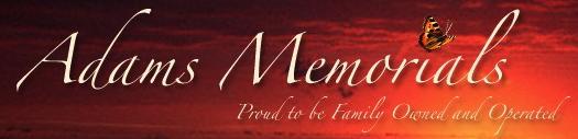 Adams Memorials - Mt Zion