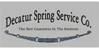 Decatur Spring Service