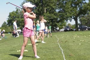 PHOTOS: Young golfers learn basic during Junior Golf Academy