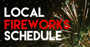 Fourth of July fireworks shows