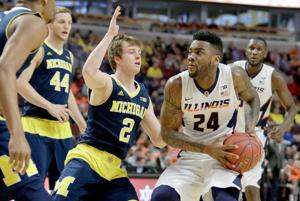 PHOTOS: Illinois Basketball vs. Michigan at B1G Tourney