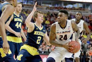PHOTOS: Illinois Basketball vs. Michigan at B1G Tourney