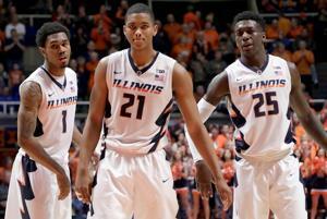PHOTOS: Illinois Basketball vs. Maryland