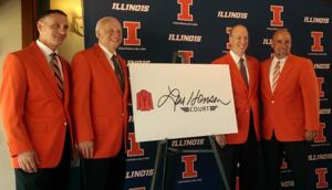 Illinois floors Henson with court honor