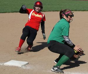 PHOTOS: Warrensburg-Latham vs Meridian Softball