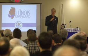 PHOTOS: Gov. Rauner at Decatur Club