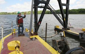 PHOTOS: Operations Aboard Dredge on Lake Decatur
