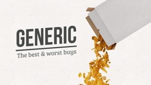 Slideshow: The best and worst things to buy generic
