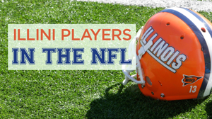 16 Illini football players in the NFL