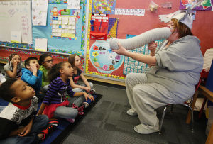 PHOTOS: Stevenson School Celebrates Read Across America