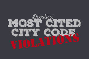 Most cited city code violations
