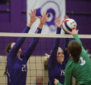 PHOTOS: Shelbyville vs. Windsor/Stewardson-Strasburg Volleyball