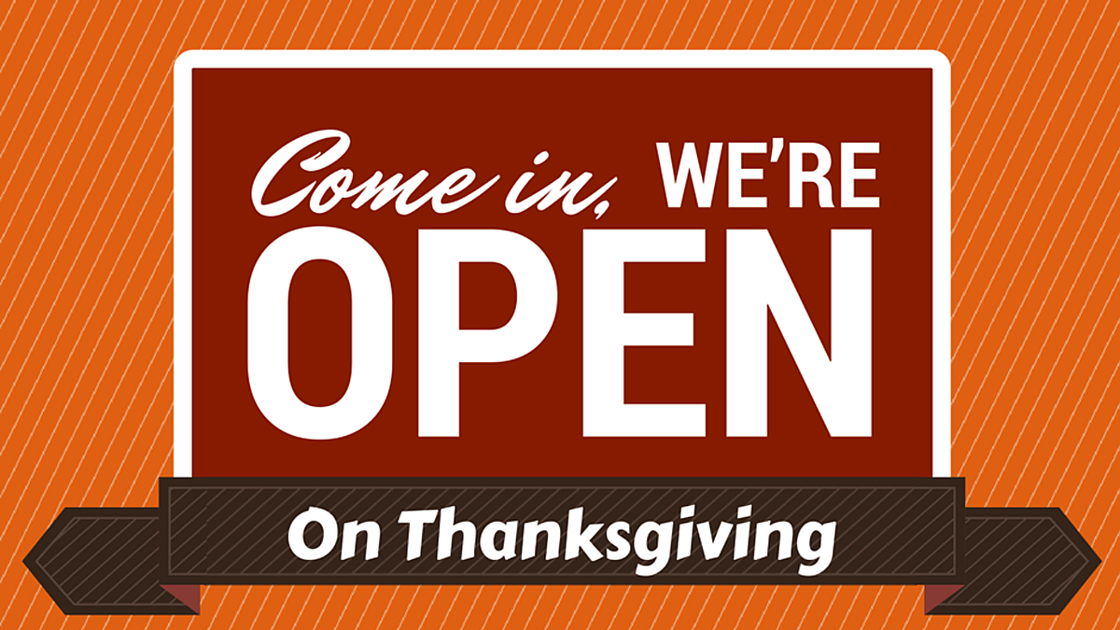 We 39 re open thanksgiving restaurant hours local herald for What restaurants are open on thanksgiving