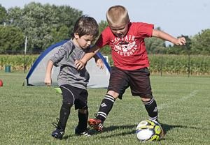 PHOTOS: Camp improves young players skills