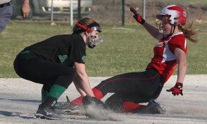 PHOTOS: Meridian vs. Warrensburg-Latham Softball