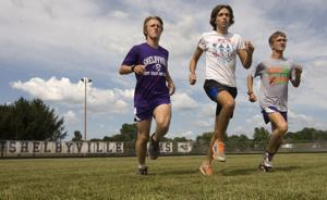 PHOTOS: Shelbyville brings both quality and quantity to cross country team