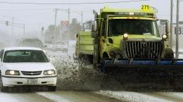 area's first significant snowfall of season mucks up roads