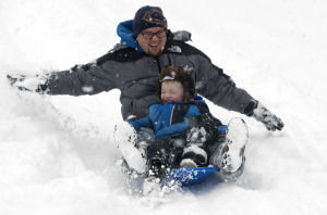 PHOTOS: Snow day helps sledders enjoy winter