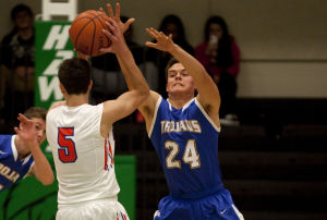 PHOTOS: St. Teresa vs Maroa-Forsyth boys basketball