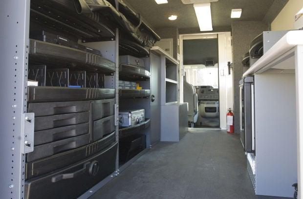 crime scene machine  new vehicle helps police gather evidence