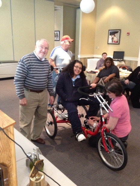 Bikes For Toddlers With Cerebral Palsy AMBUCS donates specialized