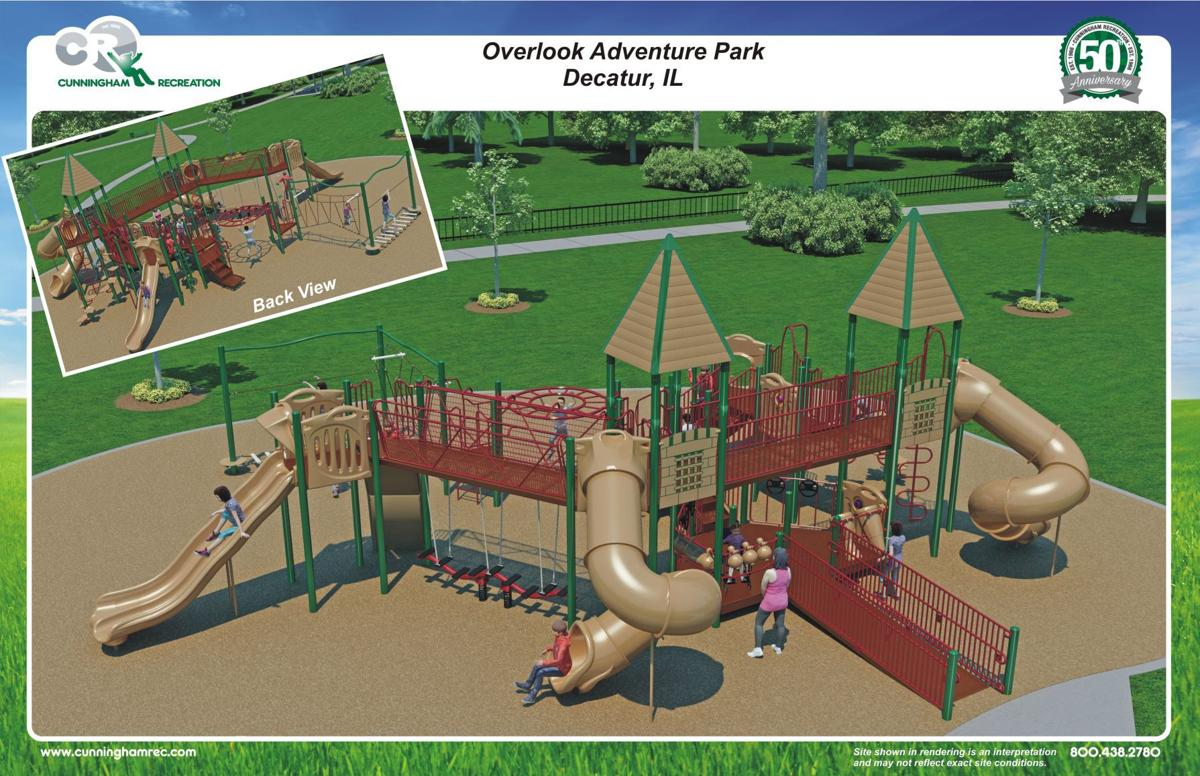 New Playground Coming to Decatur's East End! - Nelson Park
