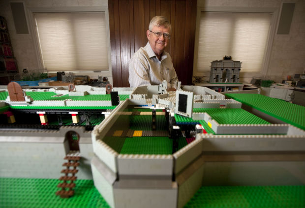 Retired doctor expresses castle cravings with LEGOs