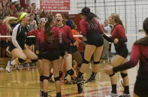 PHOTOS: Mount Zion vs St. Teresa volleyball