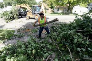 PHOTOS: Sullivan Storm Damage