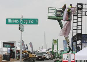 PHOTOS: Final Preparations for the 2015 Farm Progress Show