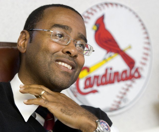 dr wendell becton of decatur enjoys ultimate ride with st louis cardinals 39 title run local. Black Bedroom Furniture Sets. Home Design Ideas