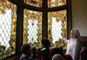 PHOTOS: 3rd Graders Tour Millikin Homestead