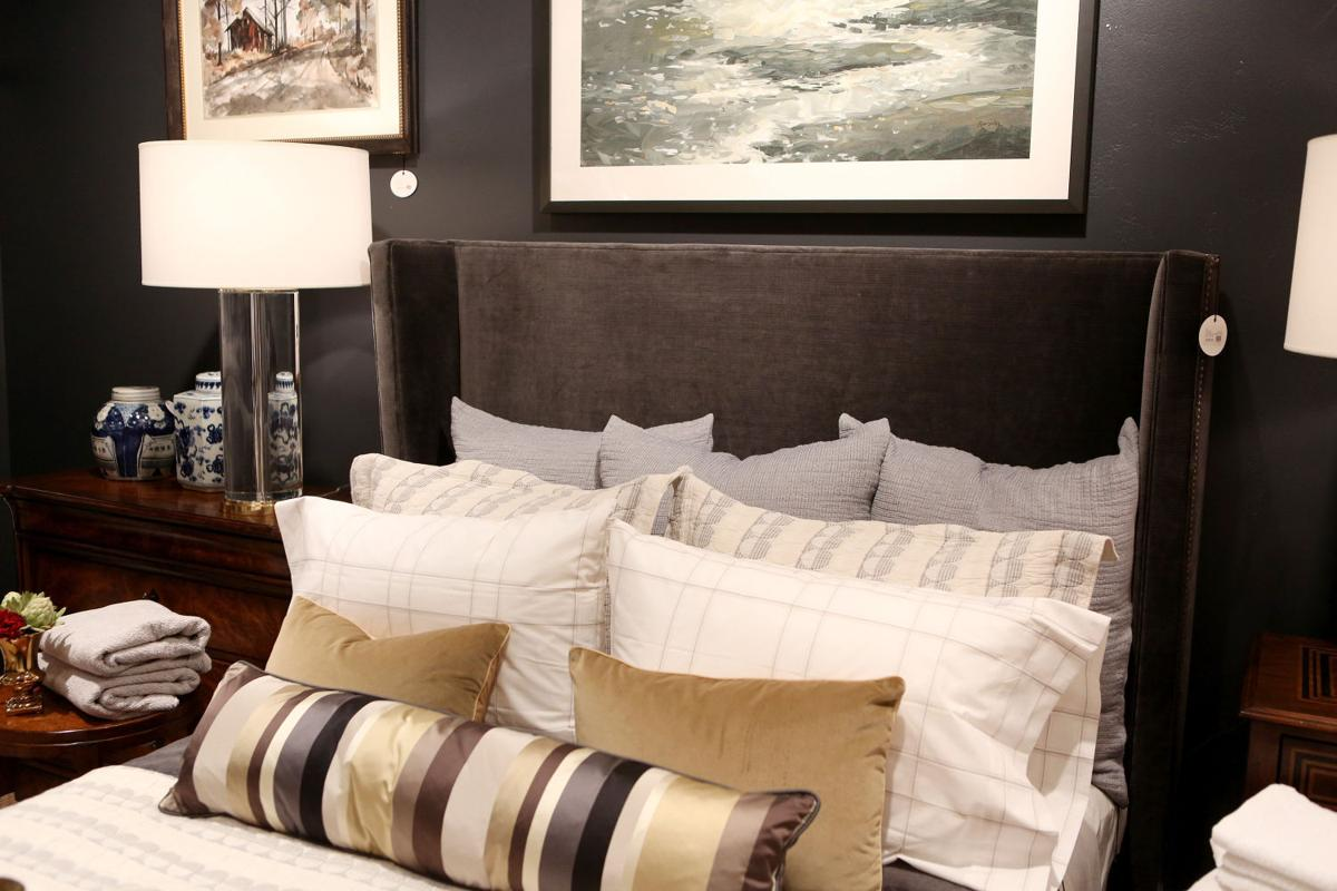 New For The Bedroom Freshen Up The Bedroom With New Headboard Bedding Home And