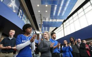 PHOTOS: MacArthur High School Celebrates Renovations