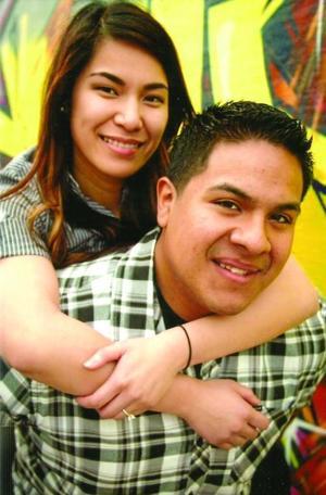 Hazel Pascual and Adam Gonzales