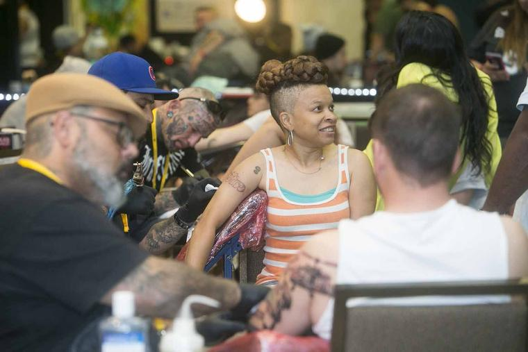 Tattoo you ink enthusiasts turn out for nb expo herald for Tattoo new braunfels