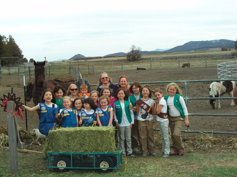 Troop 50402 donates to Project Spirit