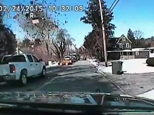 Raw: Dashcam Vid Shows NJ House Explosion