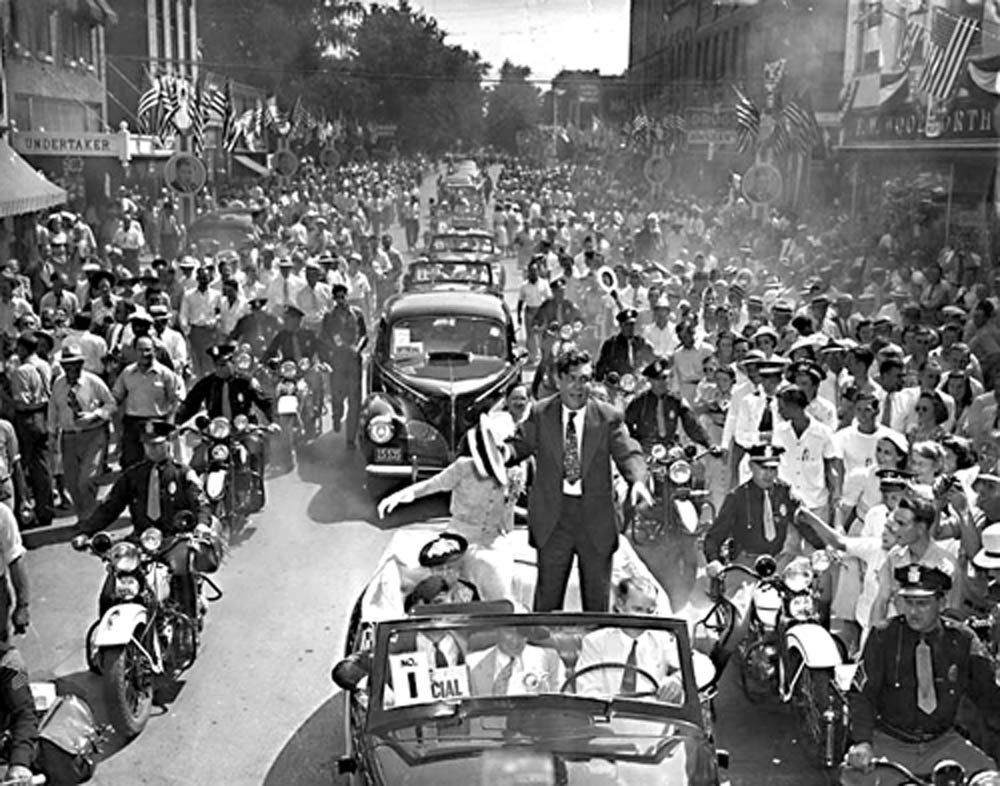 Thousands Drawn To Elwood In 1940 To See Wendell Willkie