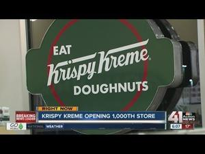 Krispy Kreme opens 1,000th location in KCK