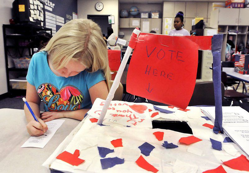 how to do a mock election elementary | just b.CAUSE