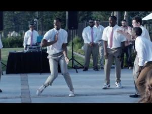 Brandon Davies Insane Groomsmen Dance!!!