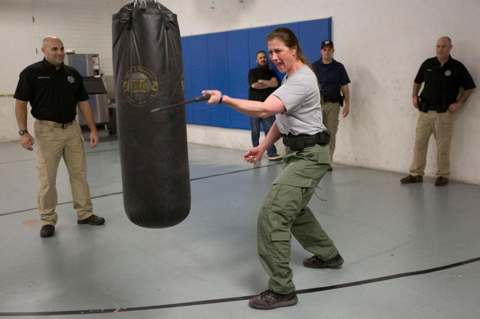 one of the guys  the first female swat team member in utah
