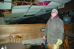 Snow and ice bring down bowling alley in Bangor
