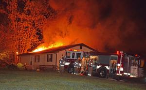 Fire guts Benton Township house