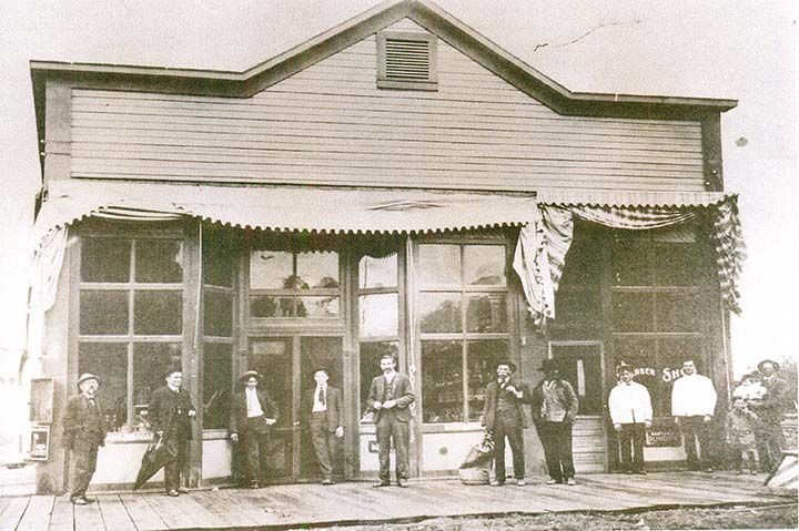 Barber Yucaipa : Photo courtesy ?A Pictorial History of Highland? by Bill Calvert