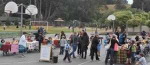 Sea Crest School farmers market