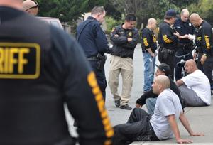 Gang task force  patrols city streets