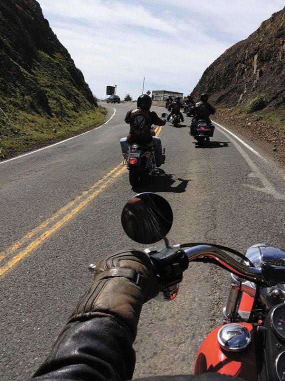 Last ride over Devil's Slide