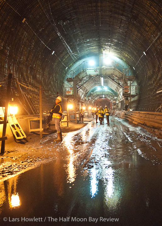 Devils Slide tunnel